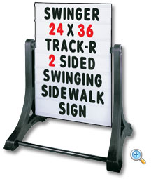 Standard Swinger Message Sidewalk Board Sign