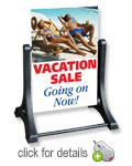 Swinger Sidewalk Blank Sign Frame